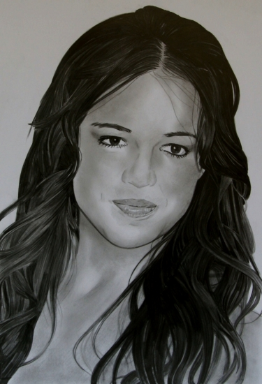 Michelle Rodriguez by umberto